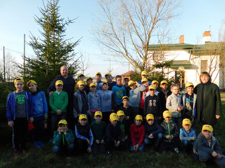 Spring 2017 Chess Camp in Pustomyty 2017