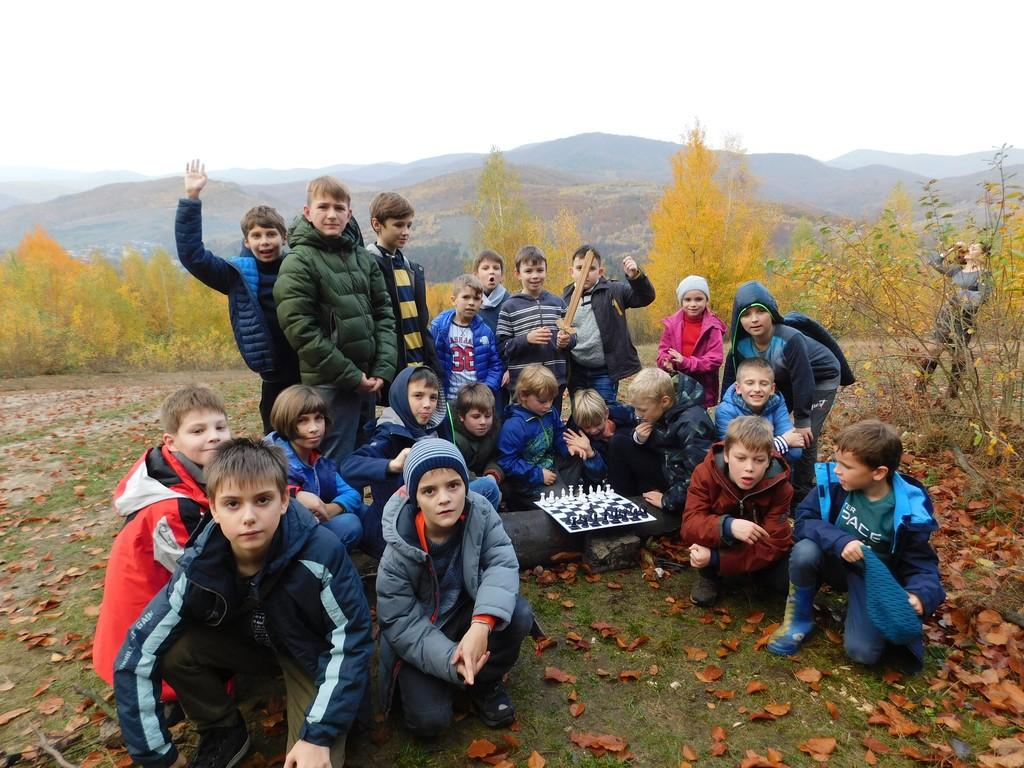 Осенние шахматные каникулы на Закарпатье!